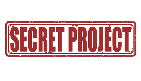 Secret project stamp