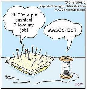 pin cushion masochist