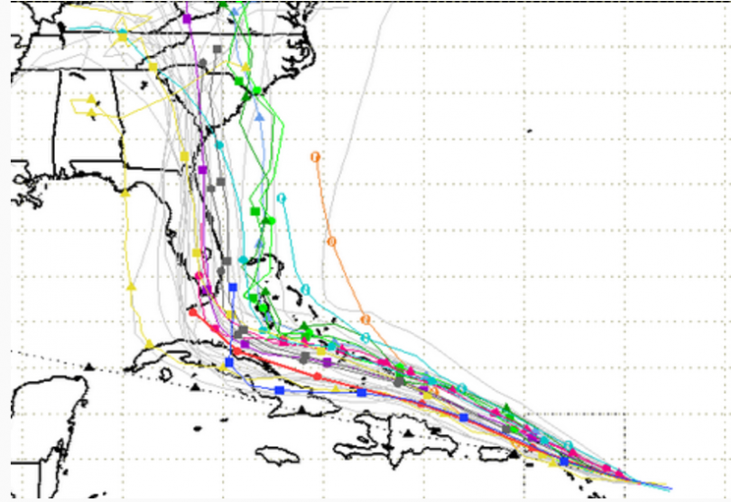 spaghetti models of hurricane irma feels like hurricane porn