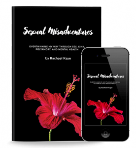book cover for Sexual Misadventures by Rachael Kaye