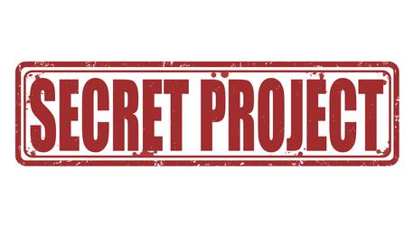 Secret project stamp