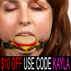 slider cheeseburger ball gag