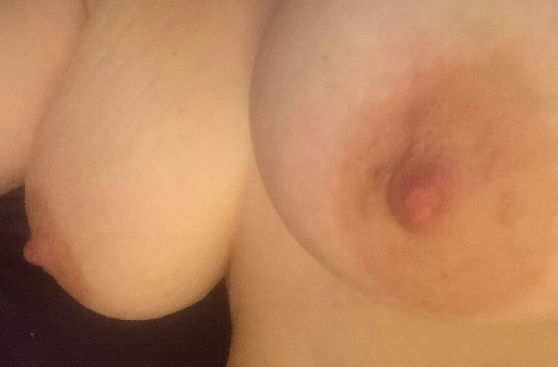 image for Boobday, Kayla's bare boobs