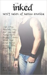 cover of Inked, erotic anthology edited by Anna Sky