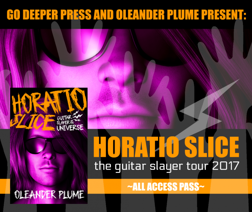Horatio Slice blog tour