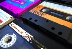 four bad tapes side by side