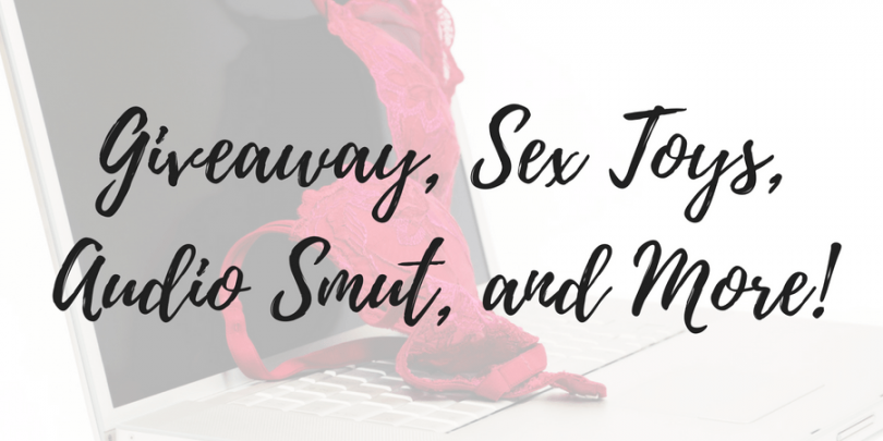 Masturbation Month giveaway, sex toys for sale, audio smut, and more!