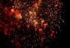 fireworks as short burst of pleasure