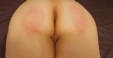 the results of John Brownstone's birthday spanking