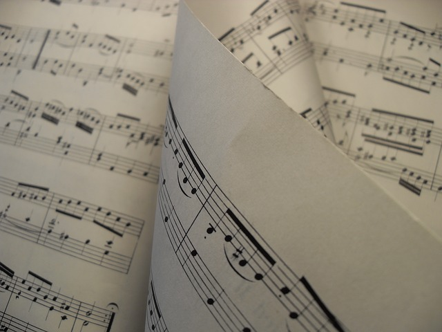 sheet music for a symphony