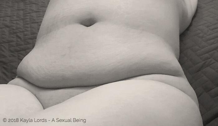 image of Kayla Lords naked torso for blog post: I Like Touching Myself